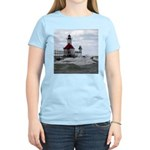 St. Joseph Lighthouse Women's Pink T-Shirt