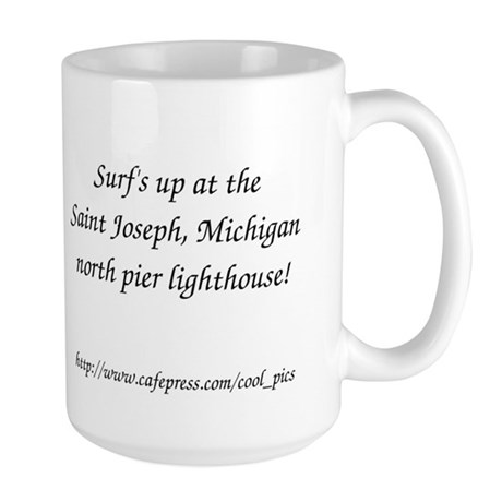 St. Joseph Lighthouse Large Mug
