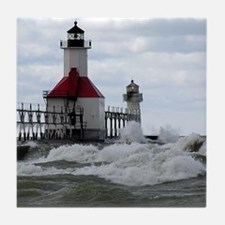 St. Joseph Lighthouse Tile Coaster