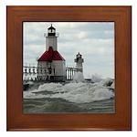 St. Joseph Lighthouse Framed Tile