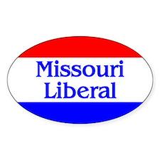 Missouri Liberal Oval Decal