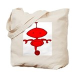 Red Rolobot Tote Bag