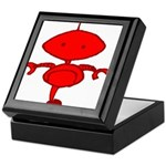 Red Rolobot Keepsake Box