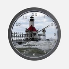 St. Joseph Lighthouse Wall Clock