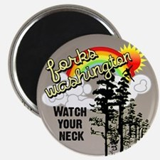 Forks Washington Twilight Magnet