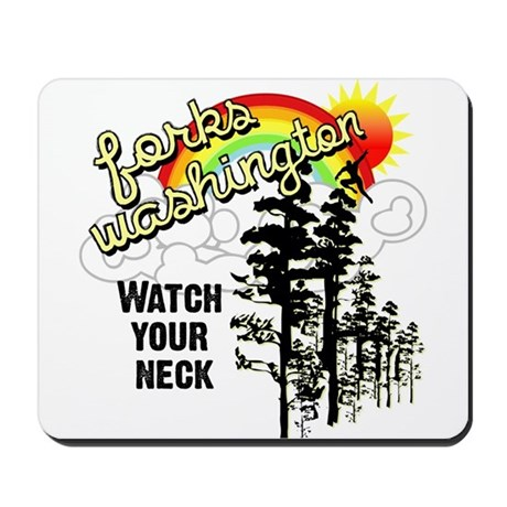Forks Washington Twilight Mousepad