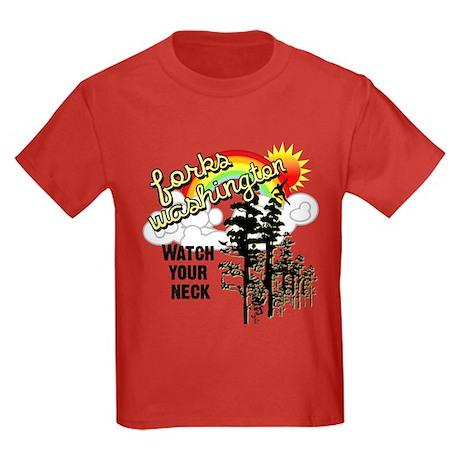 Forks Washington Twilight Kids Dark T-Shirt