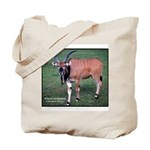 Eland Antelope Photo Tote Bag