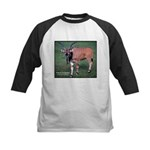 Eland Antelope Photo Kids Baseball Jersey