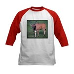Eland Antelope Photo (Front) Kids Baseball Jersey