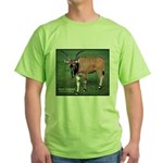 Eland Antelope Photo Green T-Shirt