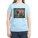 Eland Antelope Photo (Front) Women's Pink T-Shirt