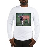 Eland Antelope Photo (Front) Long Sleeve T-Shirt