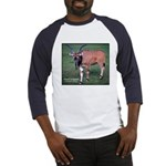 Eland Antelope Photo (Front) Baseball Jersey
