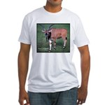 Eland Antelope Photo Fitted T-Shirt