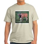 Eland Antelope Photo (Front) Ash Grey T-Shirt