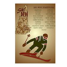 Ski NH Postcards (Package of 8)