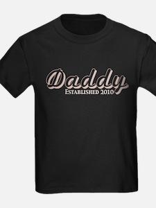 Daddy Established 2010 T