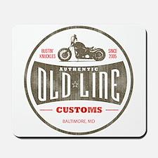 OLD LINE CUSTOMS Mousepad