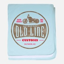 OLD LINE CUSTOMS baby blanket