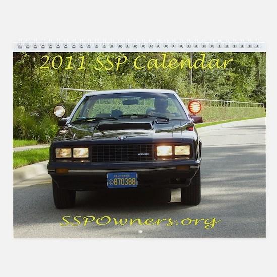 SSP Wall Calendar-Version B