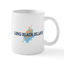 Long Beach Island NJ - Seashells Design Mug