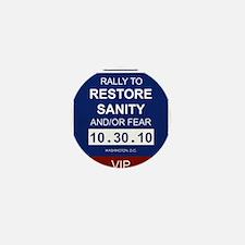 Unique Sanity Mini Button