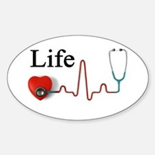 Life Sticker (Oval)