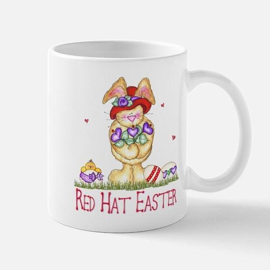 Red Hat Easter Mug