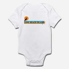 Long Beach Island NJ - Beach Design Infant Bodysui