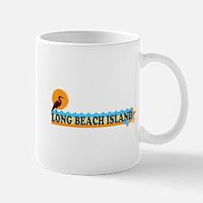 Long Beach Island NJ - Beach Design Mug