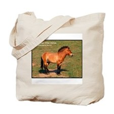 Mongolian Wild Horse Photo Tote Bag