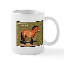 Mongolian Wild Horse Photo Mug