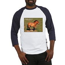 Mongolian Wild Horse Photo (Front) Baseball Jersey