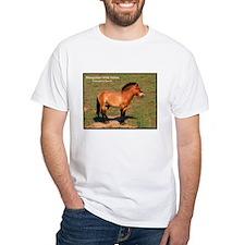 Mongolian Wild Horse Photo (Front) Shirt