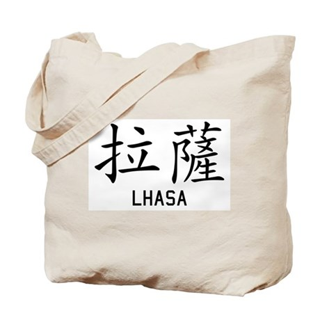 Lhasa in Chinese Tote Bag