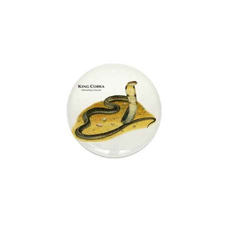 King Cobra Mini Button