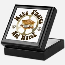 Make Smores Not Wars Keepsake Box