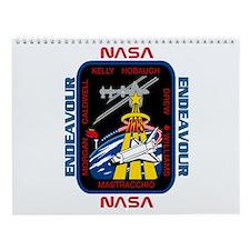 STS 118 New Crew Wall Calendar