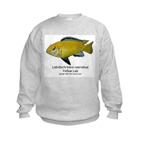 Labidochromis caeruleus Kids Sweatshirt