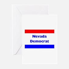 Nevada Democrat Greeting Cards (Pk of 10)