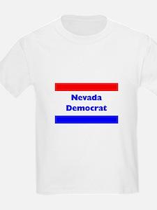 Nevada Democrat Kids T-Shirt