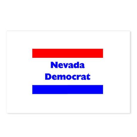 Nevada Democrat Postcards (Package of 8)