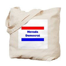Nevada Democrat Tote Bag