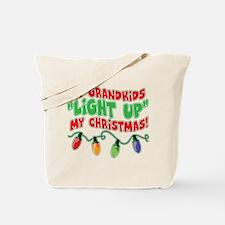 GRANDKIDS LIGHT UP CHRISTMAS Tote Bag