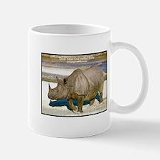 Indian One-Horned Rhino Photo Small Small Mug