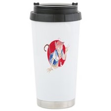 Peace Love Fence Fencing Thermos can cooler