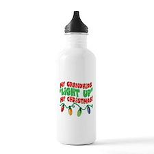 GRANDKIDS LIGHT UP CHRISTMAS Water Bottle