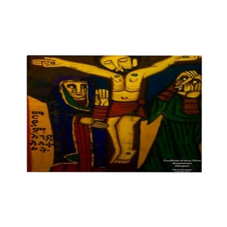 Crucifixion Rectangle Magnet (10 pack)
