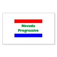 Nevada Progressive Rectangle Decal
